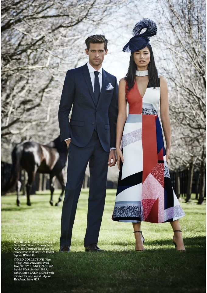 david jones catalogues melbourne cup carnival fashion