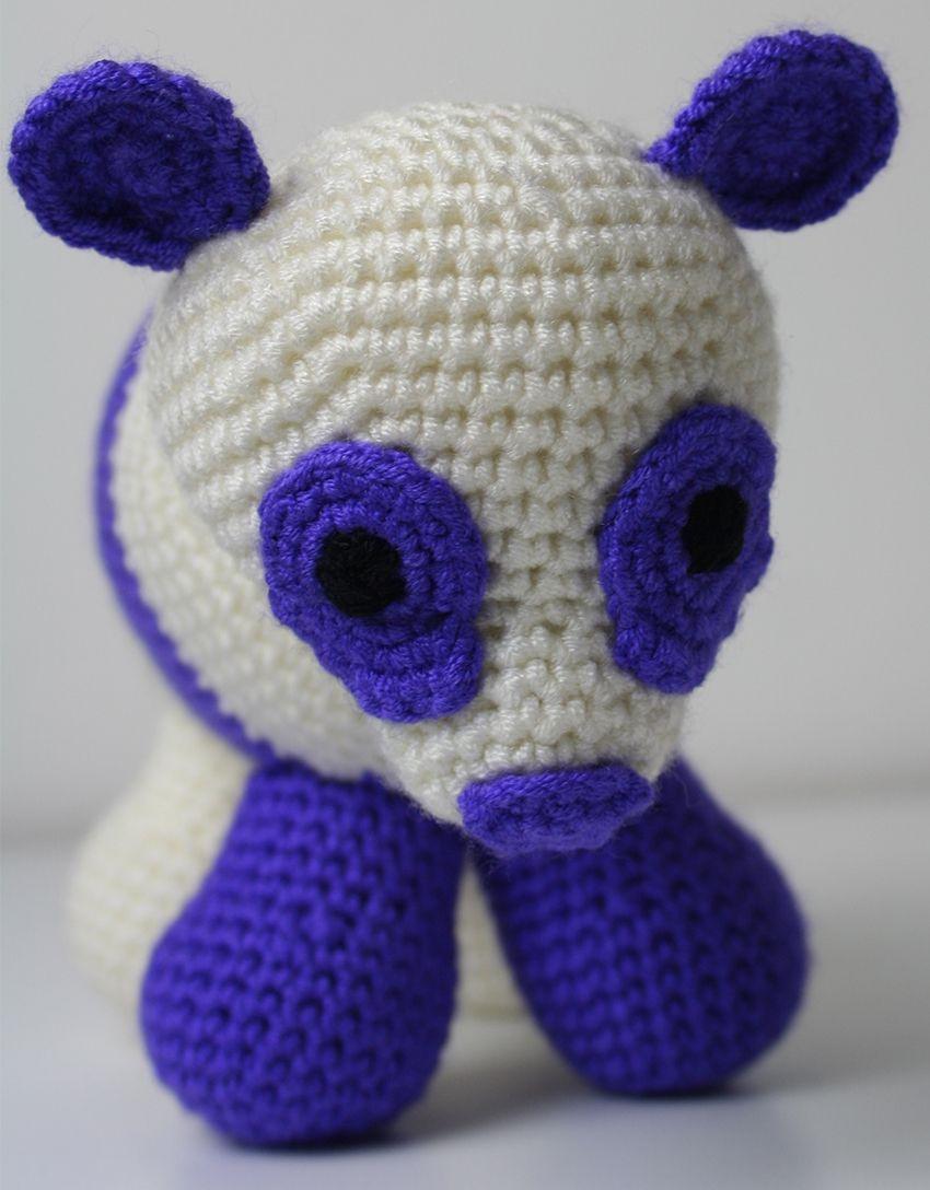 Crochet Panda Bear Pattern | Crochet panda, Panda and Crochet
