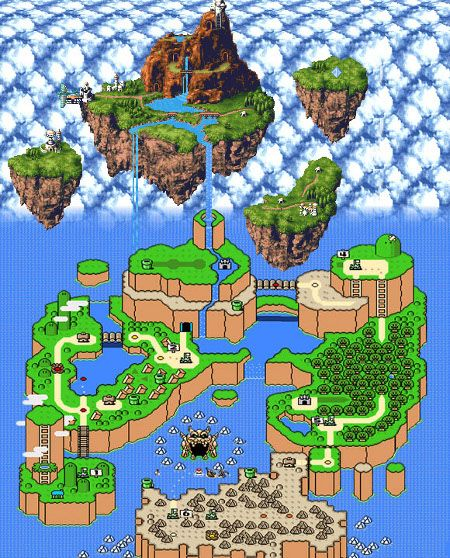 The waterfall from zeal in chrono trigger falls to super mario world the waterfall from zeal in chrono trigger falls to super mario world hmm can gumiabroncs Image collections