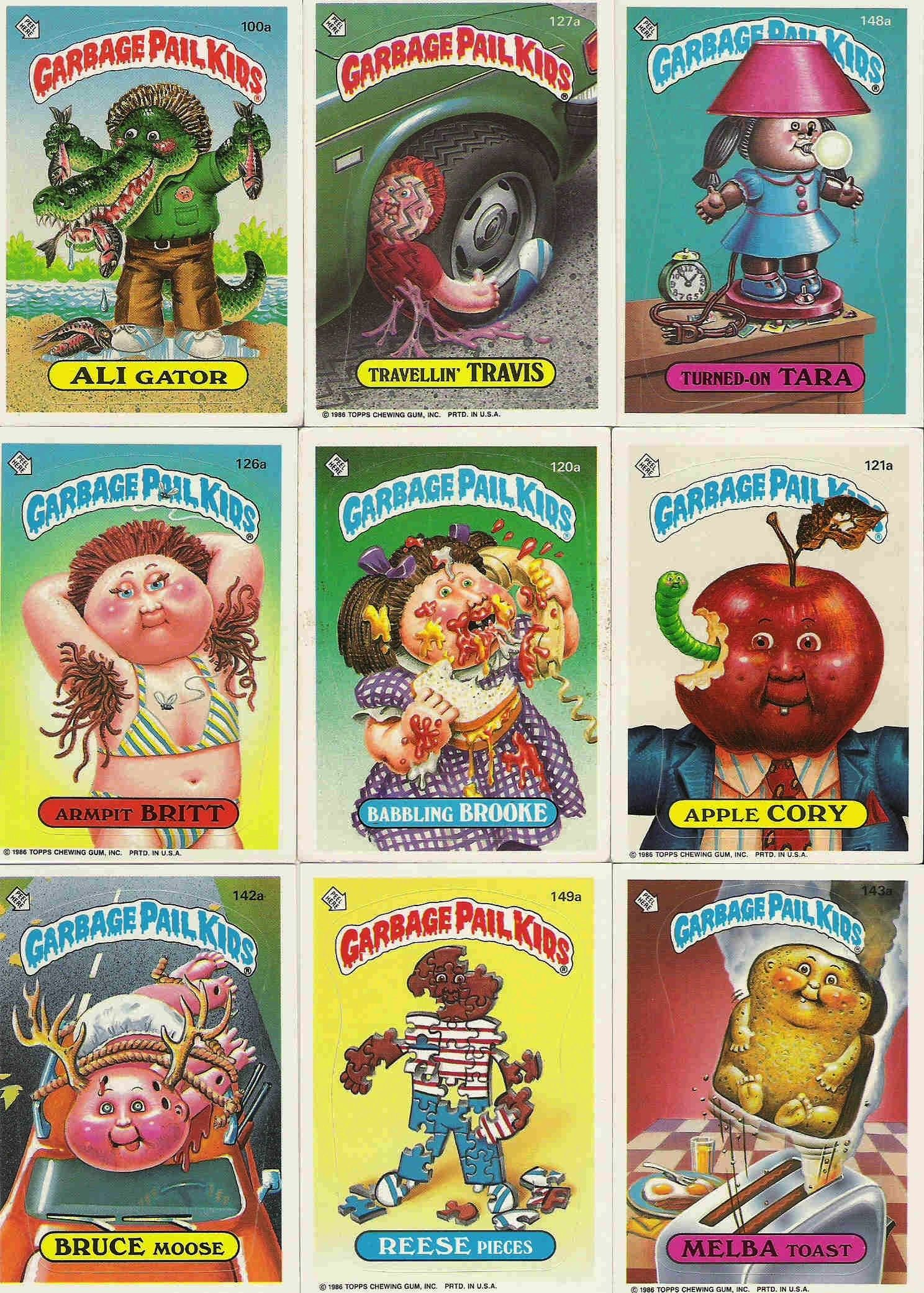 Google Image Result For Http Ny Image0 Etsy Com Il Fullxfull 123451216 Jpg Garbage Pail Kids Garbage Pail Kids Cards My Childhood Memories