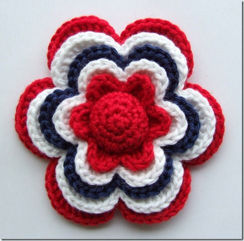 Would you like to make yourself i litle flower? Just find some yarn ...