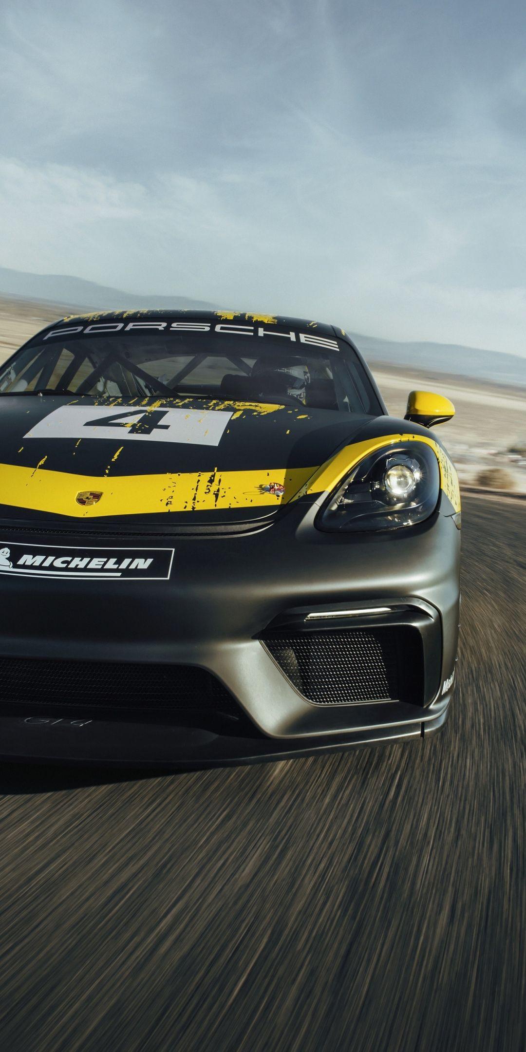 Race Car Porsche Cayman Gt4 1080x2160 Wallpaper Cayman Gt4 Race Cars Porsche 718 Cayman
