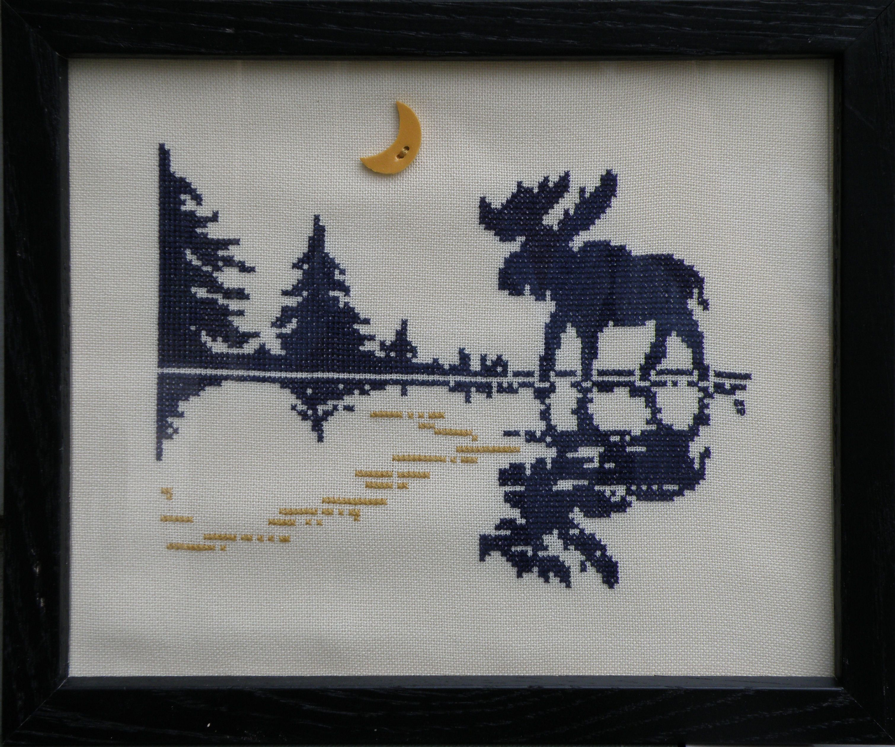 Free Moose Cross Stitch Patterns