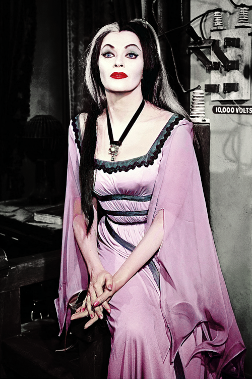 5b15e9c5c11 Lily Munster the Best~! | Gothy and Gorgeous Gals | Yvonne de carlo ...