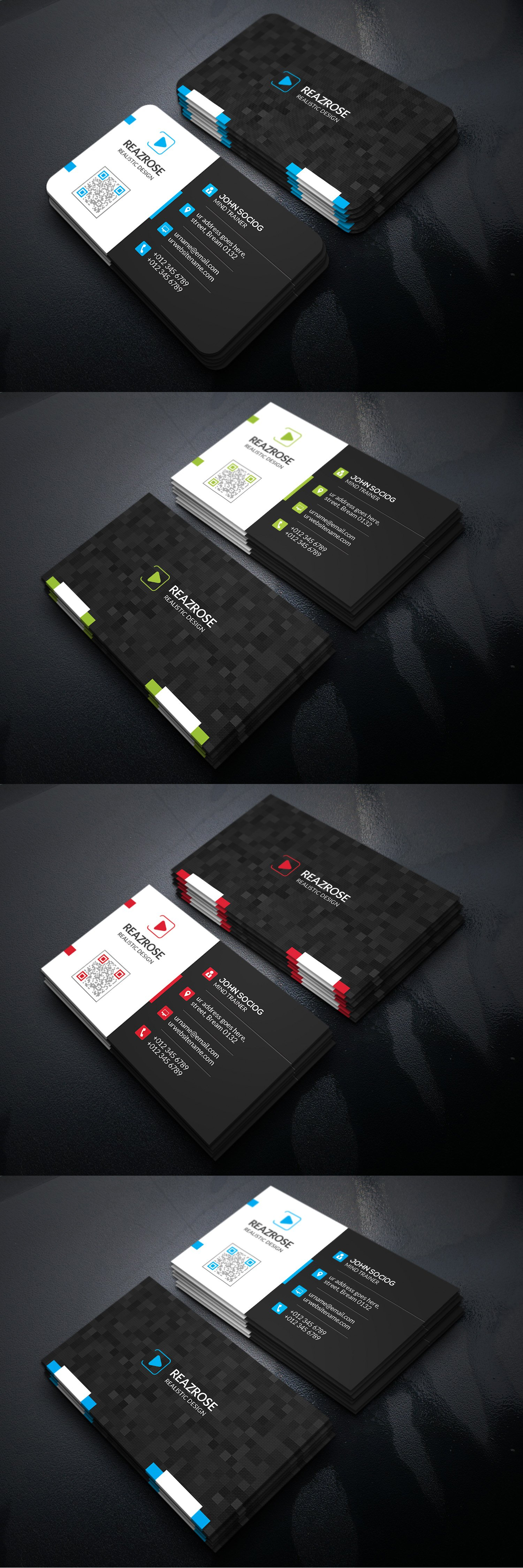Business card templates psd business card templates pinterest business card templates psd reheart Image collections
