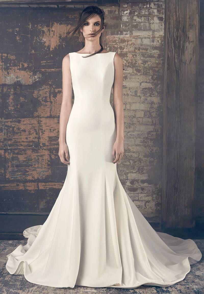 Telas para vestido de novia corte sirena