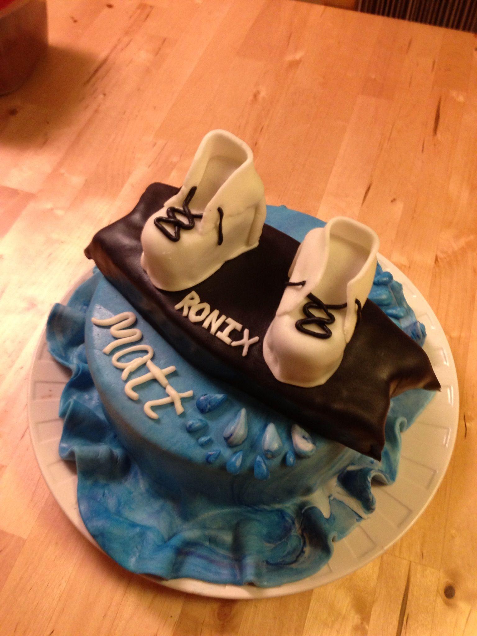 Wakeboard Birthday Cake Images