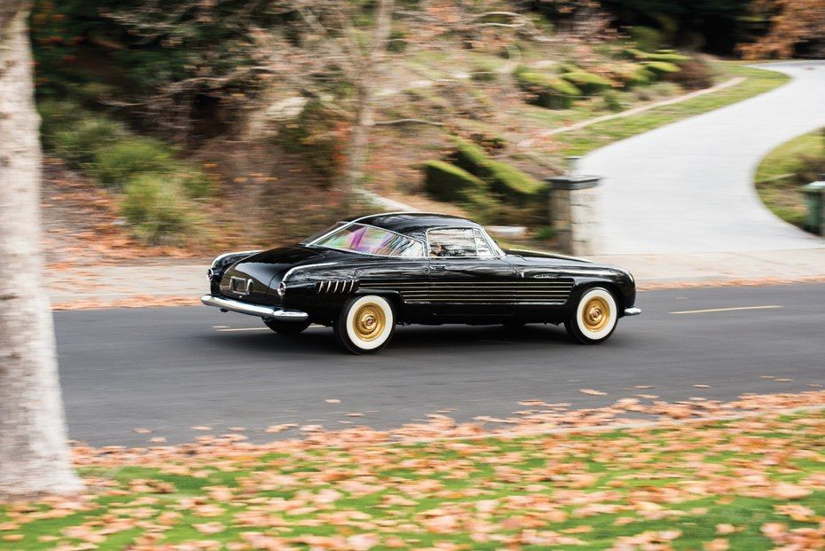 This 1953 Cadillac Series 62 Coupe by Ghia has an estimated price of $1,500,000 to $1,800,000