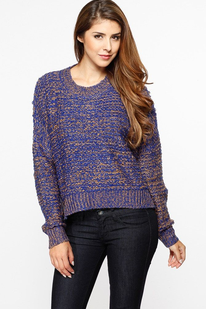 81f0fc6a9ef Chunky Over Sized High Low Sweater   Cicihot Clothing