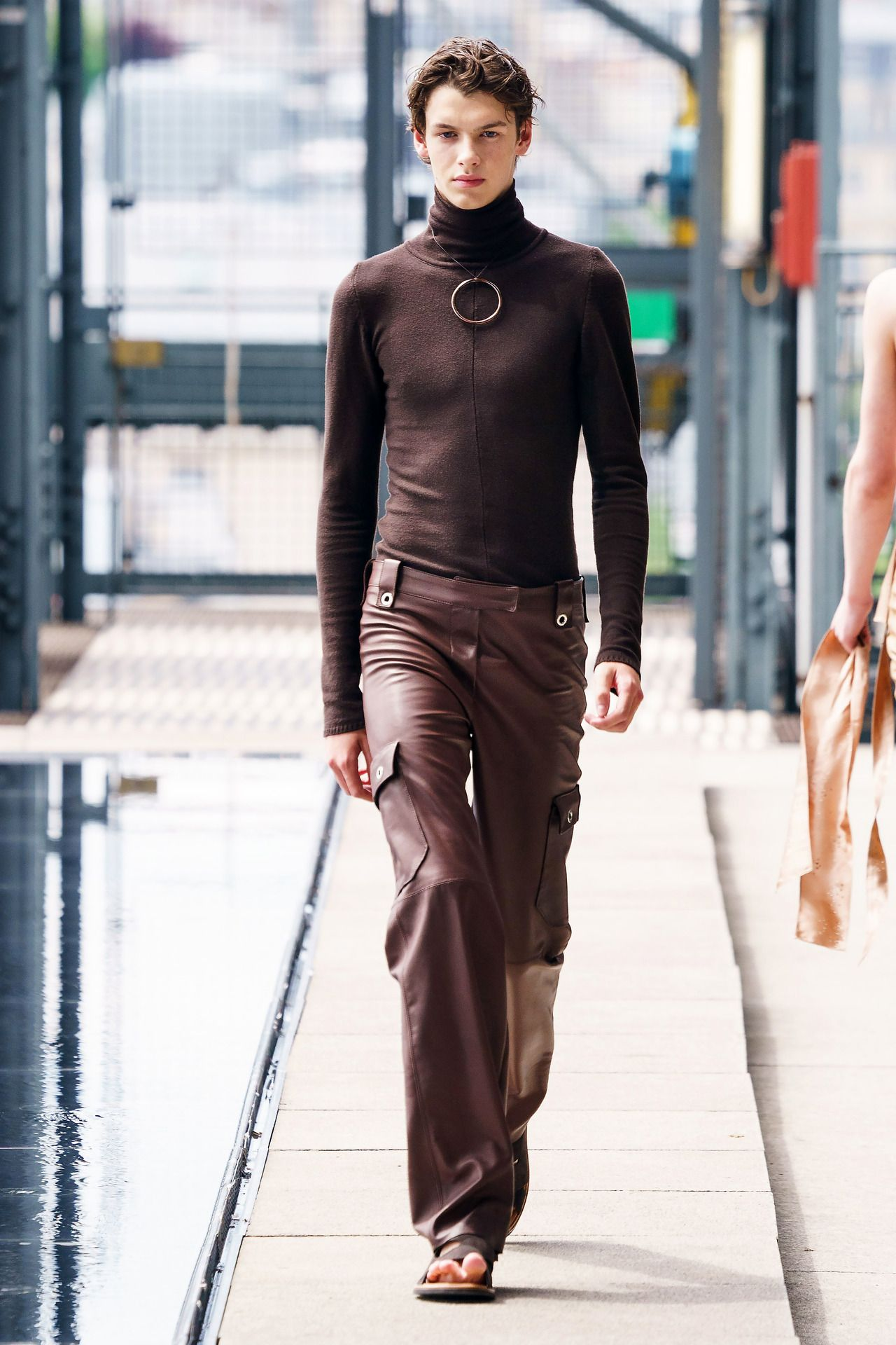 Ludovic De Saint Sernin Ss20 Menswear High Fashion Men Androgynous Fashion