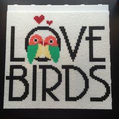 Love Birds - Hama perler bead
