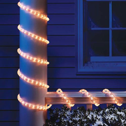 Holiday Time Christmas Lights 18-Ft Clear Light Rope #HolidayTime