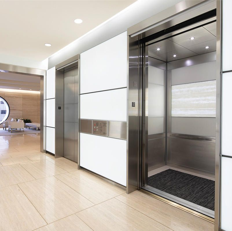 Located In Houston Texas Five Post Oak Park Is A 28 Story Building With Class A Office Space Newly Renovated Com Elevator Interior Oak Park Cladding Systems