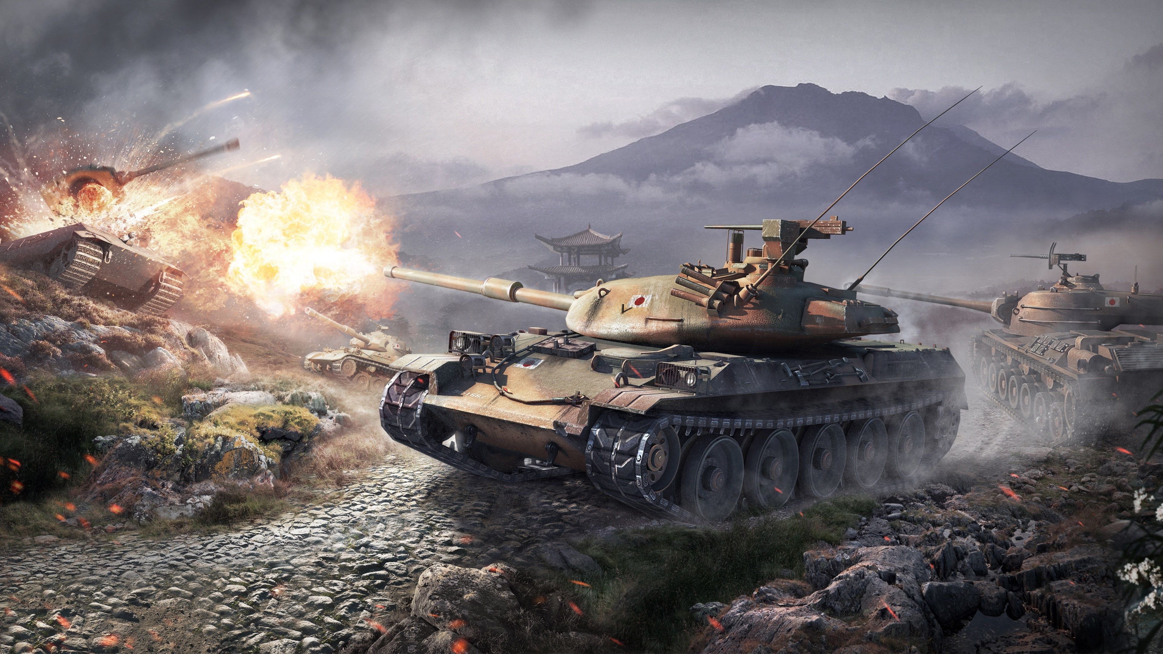 World Of Tanks Hd Wallpaper Igry Tank Voennyj