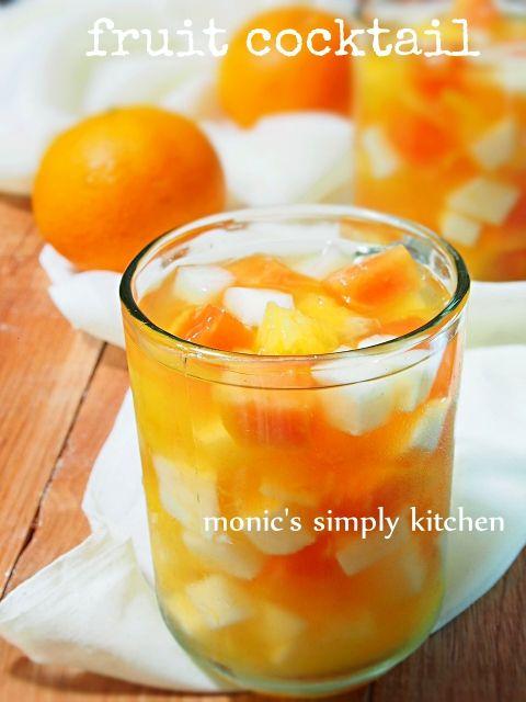 Resep Es Buah Fruit Cocktail Murah Meriah Monic S Simply Kitchen Manisan Buah Buah Segar Resep Makanan