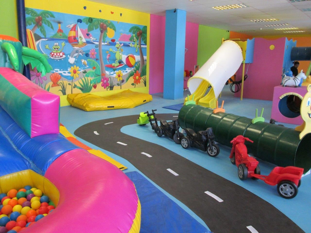 East London Funky Frogs Play Centre Funky Frogs Indoor Play - Childrens birthday party ideas east london