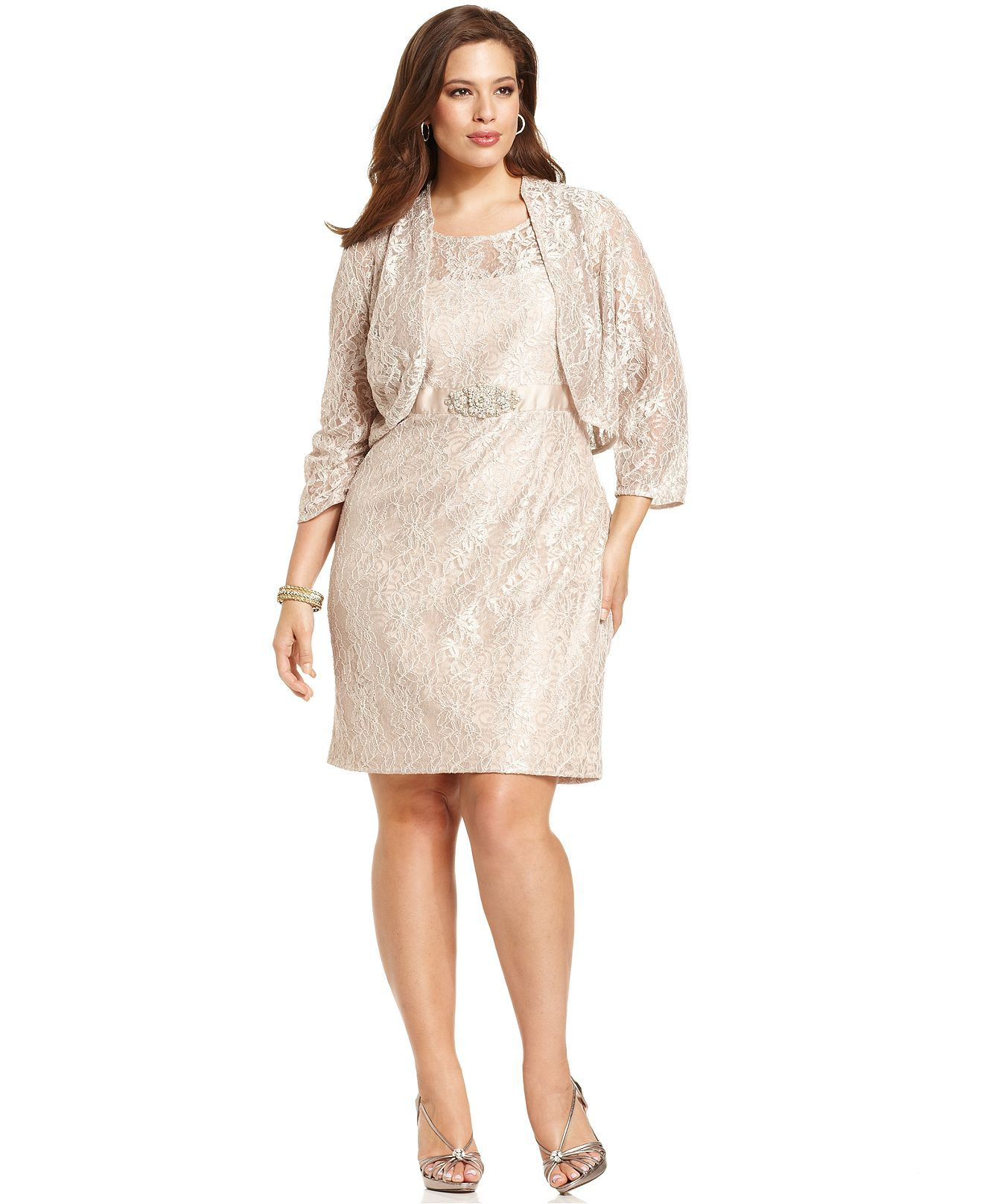c043ca4e0a6 Jessica Howard Plus Size Dress and Jacket