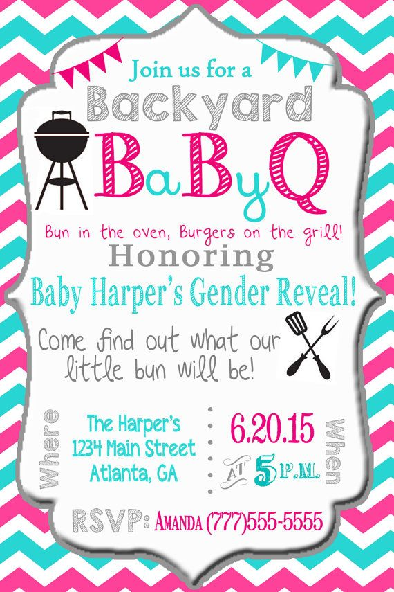 Listing Baby Que Baby Bbq Gender Reveal Party Invitation Printable Digital File Nothin Gender Reveal Invitations Baby Shower Gender Reveal Gender Reveal