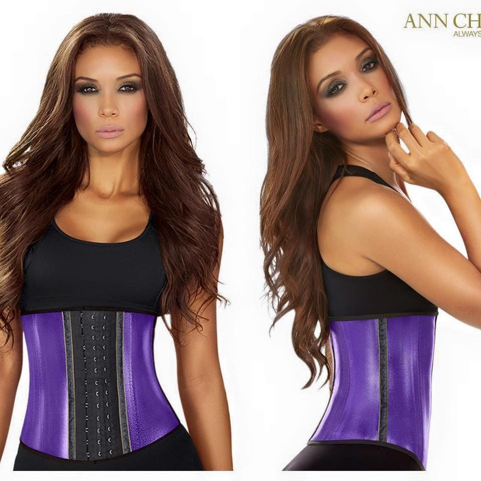 Metalic Blue Ann Chery Waist Trainer Products Waist Cincher