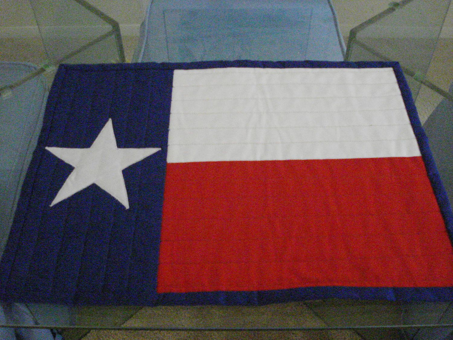 Quilted Lone Star Placemats