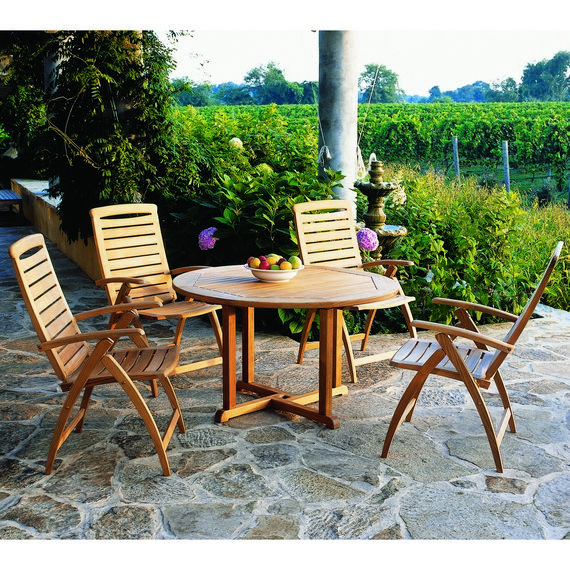 Kingsley-Bate: Elegant Outdoor Furniture. Catalina chairs with Essex ...