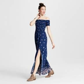 2333017b5b You ll love the flirty style of the Women s Smocked Maxi Off-the ...