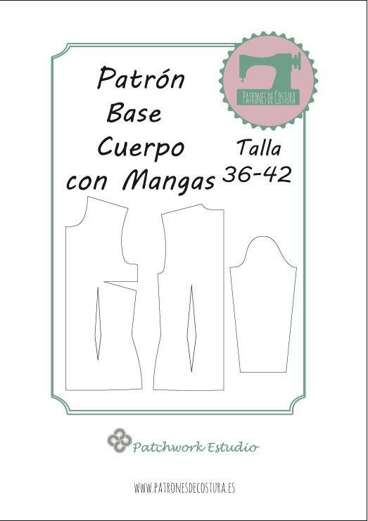 Patrón base cuerpo | costuras faciles | Pinterest | Cuerpo, Patrones ...