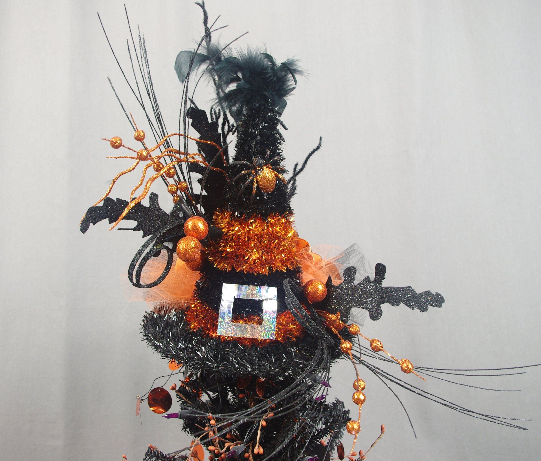 Halloween Tree Topper Halloween Decoration Orange and