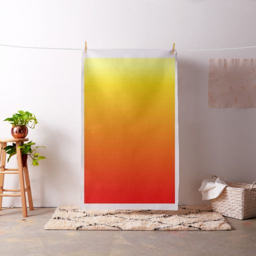 Red, Orange and Yellow Watercolor Gradient Fabric by Khoncepts (sold - in CA) Thank you!