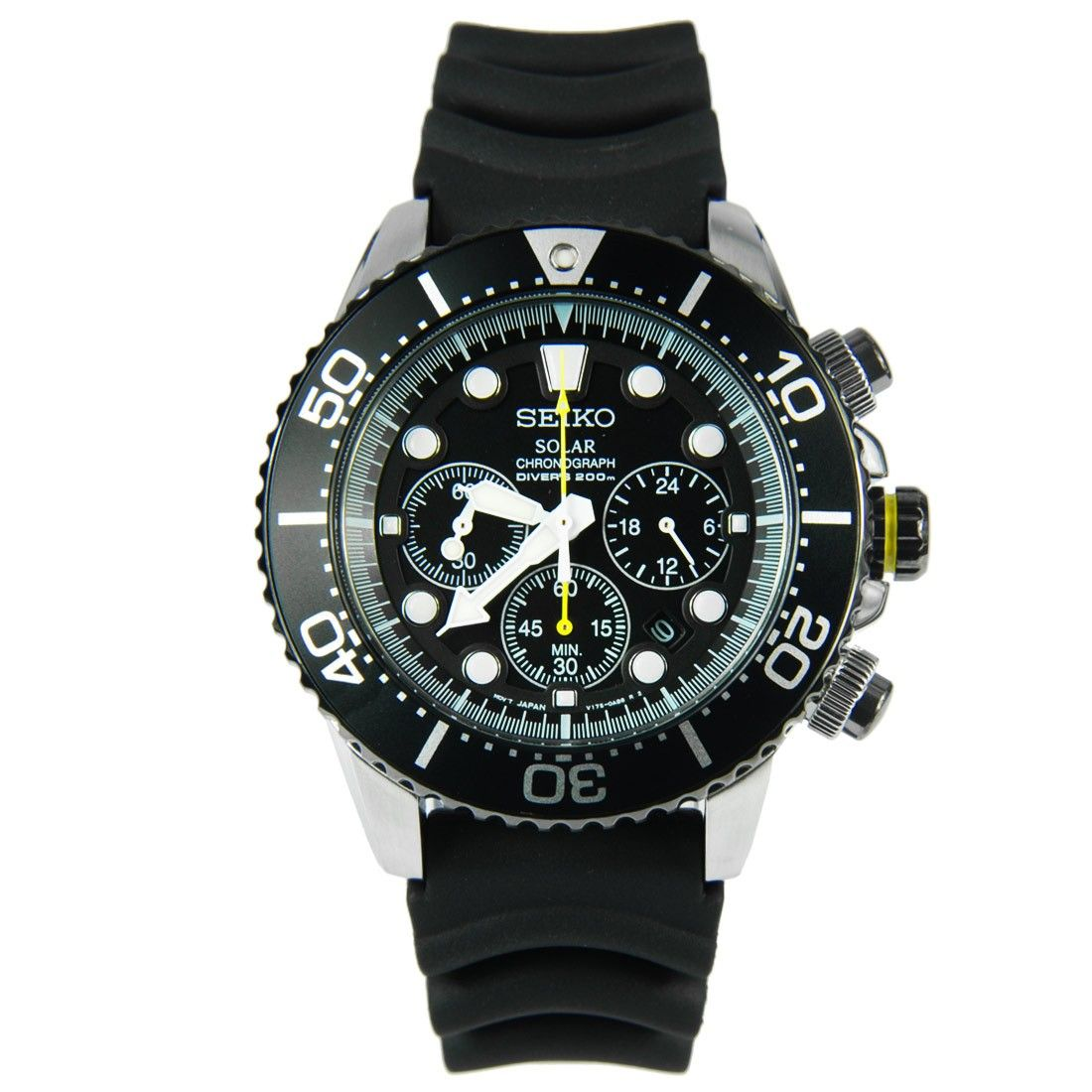 new product 43df7 780bc Seiko Solar Chronograph Diver Watch SSC021 SSC021P1   Stuff ...