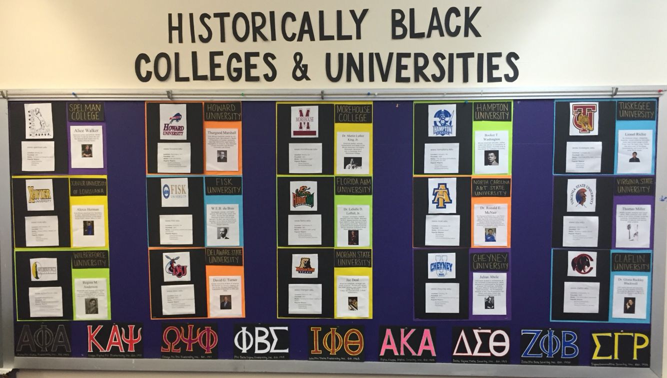 Black History Classroom Decorations : Hbcu bulletin board for black history month school