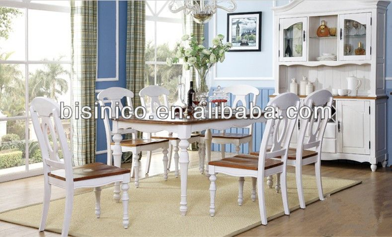 Bisini Dining Set, English Country Style Dining Room Furniture Set .
