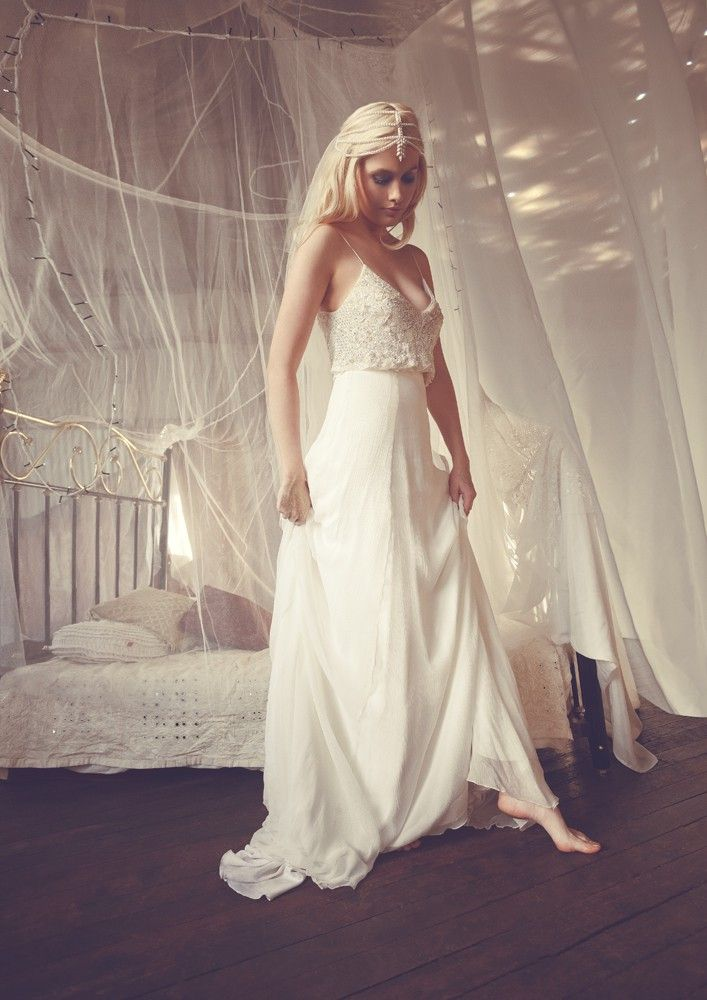 Casual Chic 50 Less Formal Minimalist Wedding Gowns Pinterest