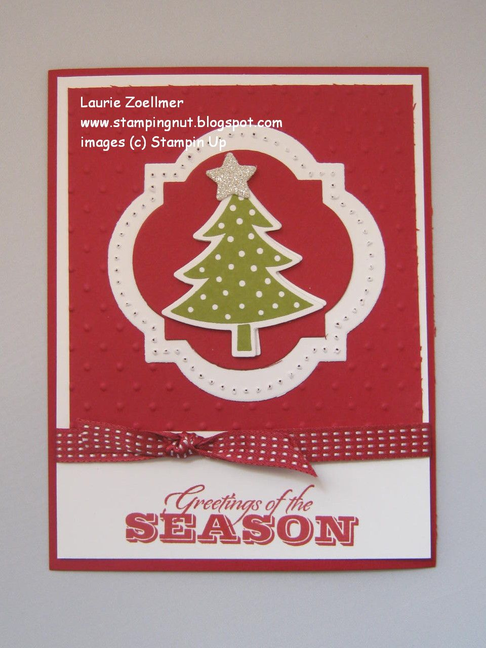 Lauries Stampin Spot Scentsational Greetings Of The Season