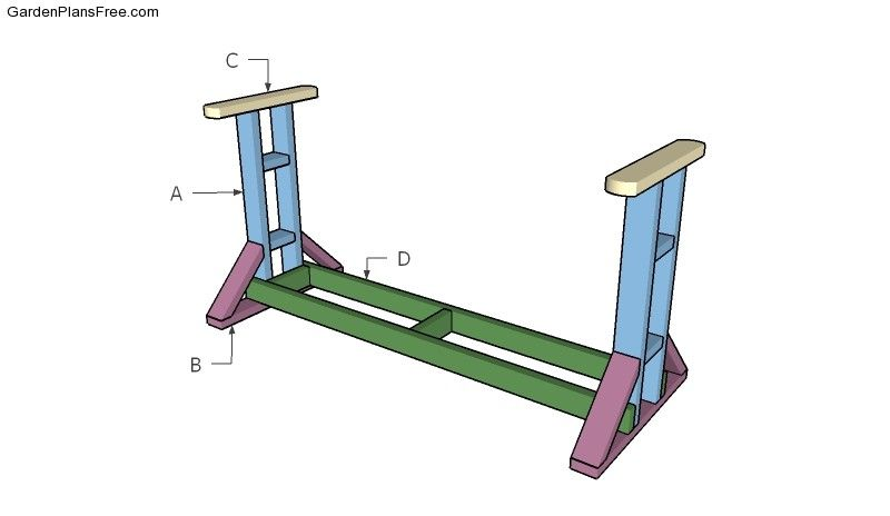 Glider Swing Stand Plans Free Garden Plans How To Build Garden Projects Diy Porch Swing Porch Glider Plans Porch Swing Plans