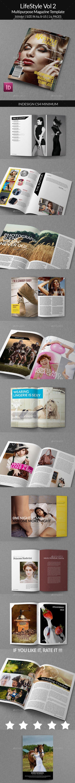 Lifestyle Vol 2 - Multipurpose Magazines http://graphicriver.net/item/lifestyle-vol-2-multipurpose-magazines/9562502 #magazine #lifestyle #indesign #template #magz
