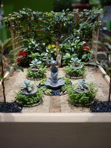 Miniature Garden | Miniature gardens, Gardens and Mini fairy garden