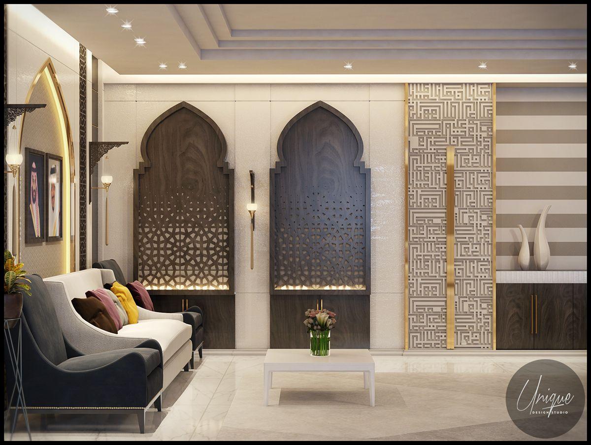 Luxury Arabic Parametric Office On Behance Moroccan Interiors Luxurious Bedrooms Modern Bedroom Design