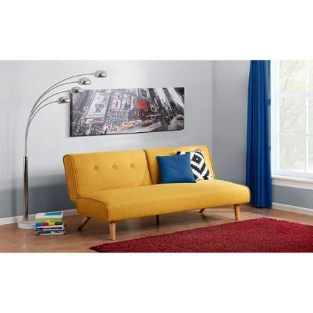 Heres Our New Futon Http Www Walmart Com Ip Novogratz Palm Springs Futon Multiple Colors 43070446 Hogar Interiores Decoracion De Unas