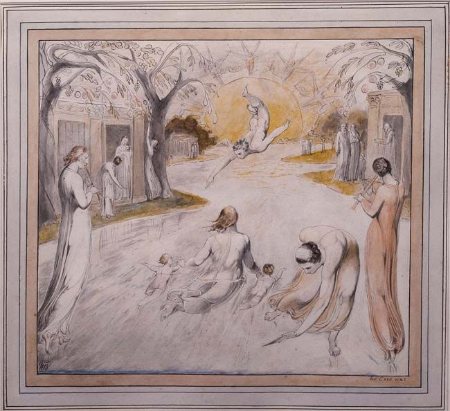 Image result for The River of Life 1805 blake