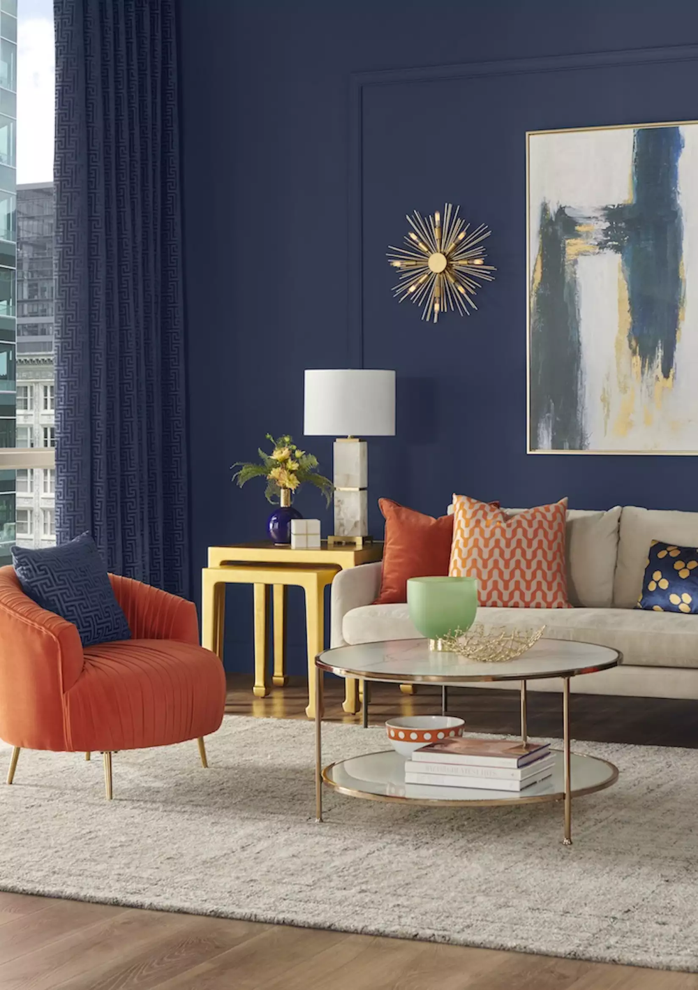 sherwin williams picked a rich calming nostalgic hue as on paint colors for 2021 living room id=88770
