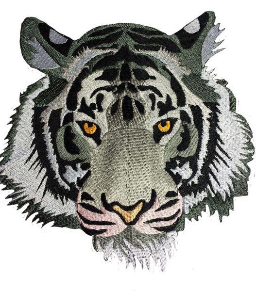 Stickmuster Augen des Leoparden Maschinen stickdateien Stickerei Design