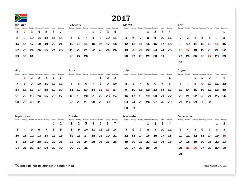 Calendar South Africa Printable : Free calendars for to print south africa boredom