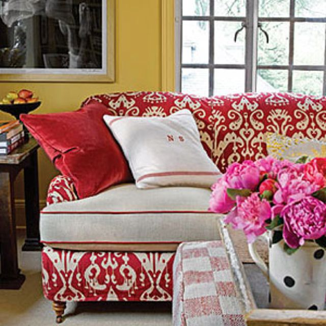 Sofa Slipcover Makeover From Bold How To Make A