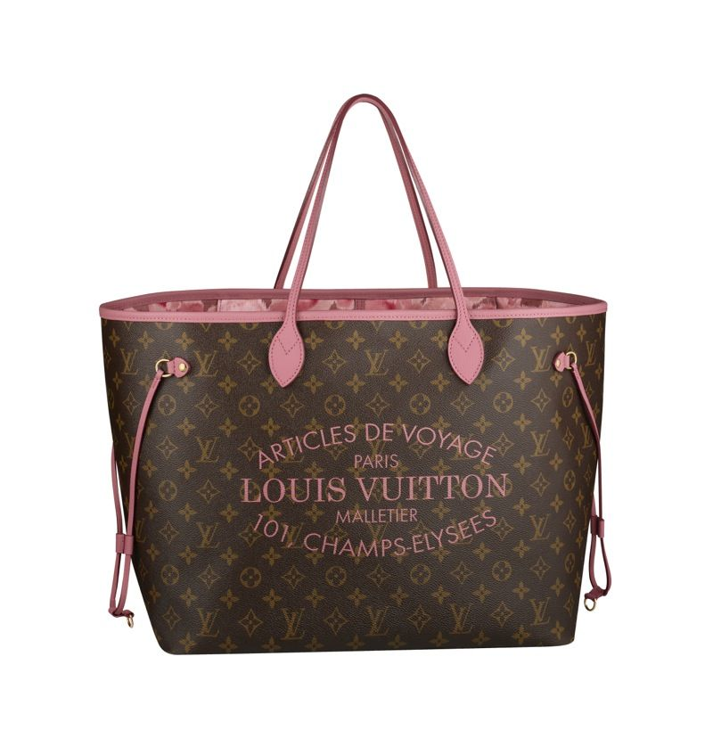 pink neverfull louis vuitton 2013 the bag of love