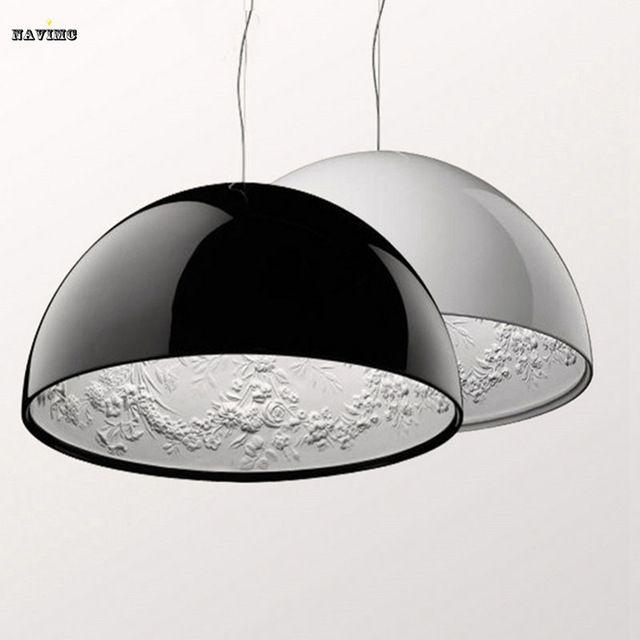 Dia 40cm/60cm,Modern Black&White Sky Garden Chandelier Pendant Lamp With E27 Light,Best Decoration Lamp For Bedroom,Living Room