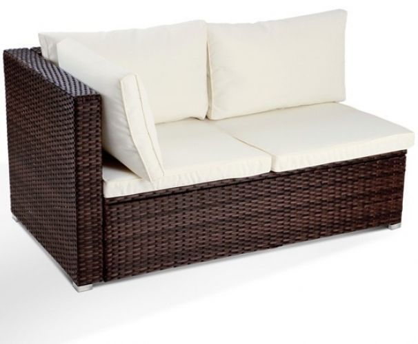 Outdoor Corner Sofa 2 Seater Rattan Garden Patio Couch Cushion Furniture Brown Http Www Ebay Co Uk Itm Outdoor Corner S Patio Couch Cushions Patio Couch Sofa