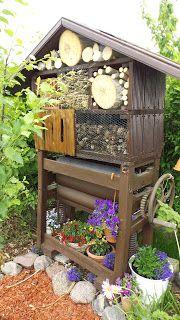 Pinnis Garten: Insektenhotel