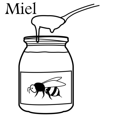 Miel - Dibujos alimentos  clases  Pinterest  Miel ...