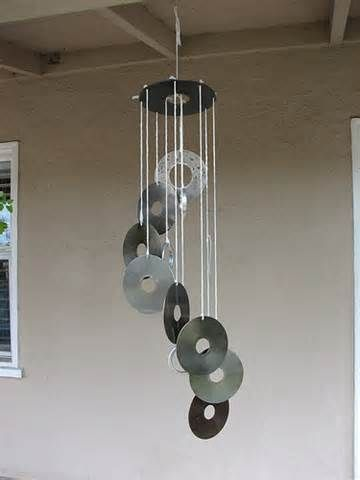 Image detail for -Tulip Heart Glass Wind Chimes